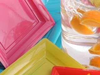 Assiette couleur
